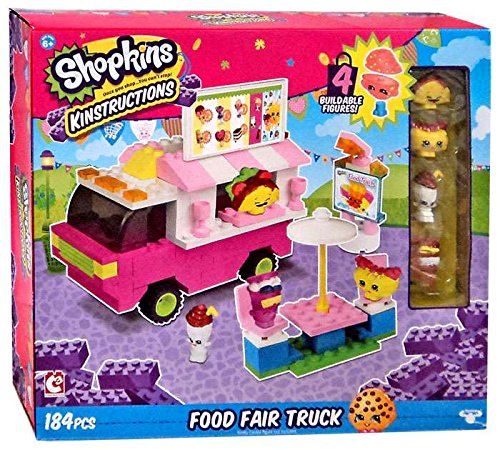 The Bridge Direct Shopkins Kinstructions Shopville Food Fair Truck