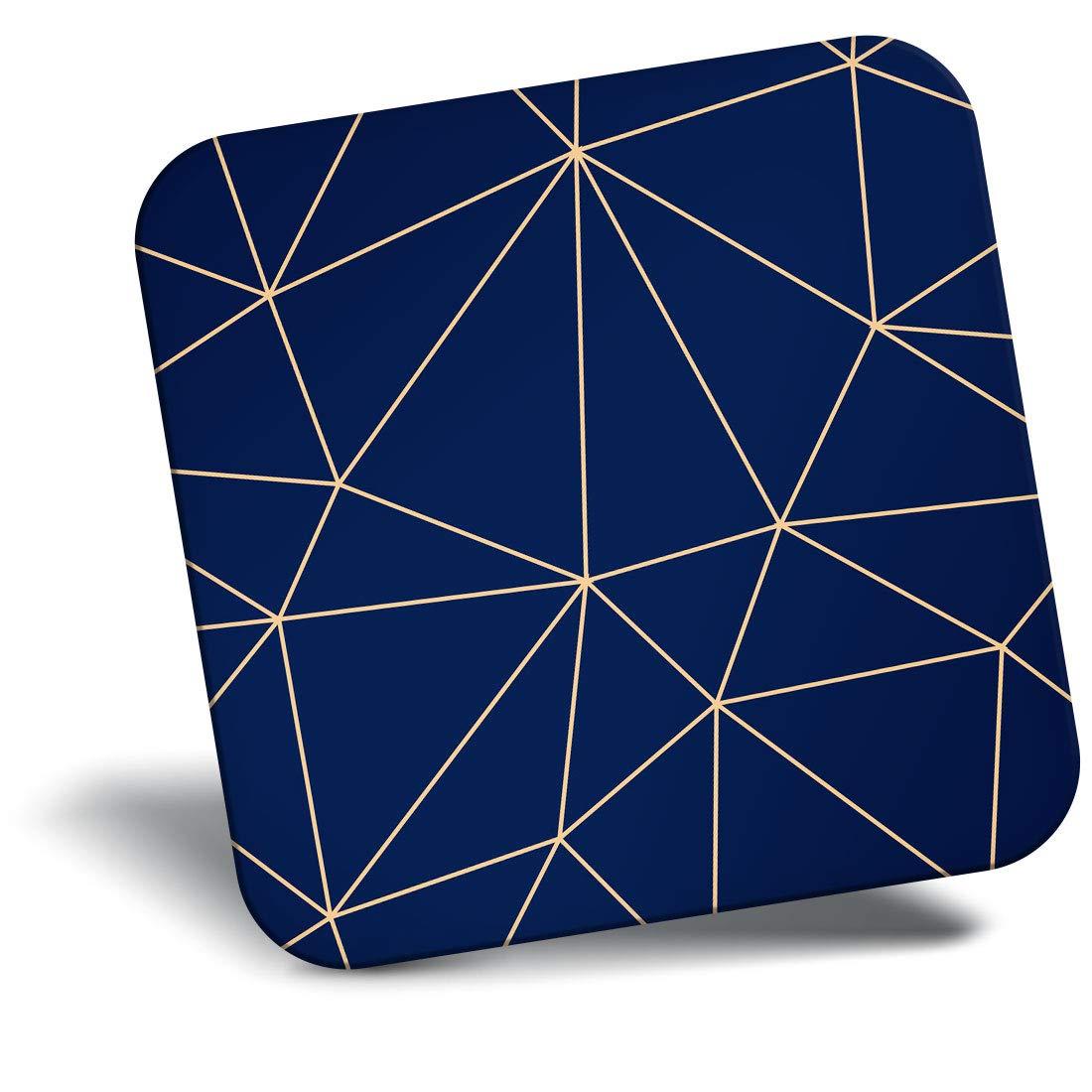 Destination Vinyl ltd Awesome Fridge Magnet - Fun Geometric Art Deco Retro 3959
