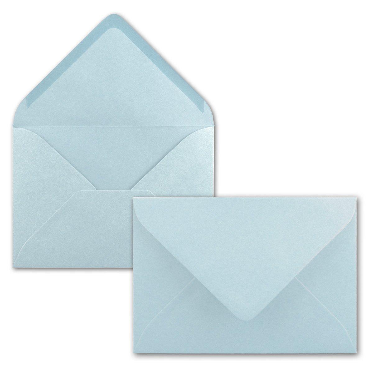 chiusura adesiva da inumidire 75 Umschl/äge 19-Hellblau formato C6 dimensioni/162 x 114/mm Neuser buste per lettere