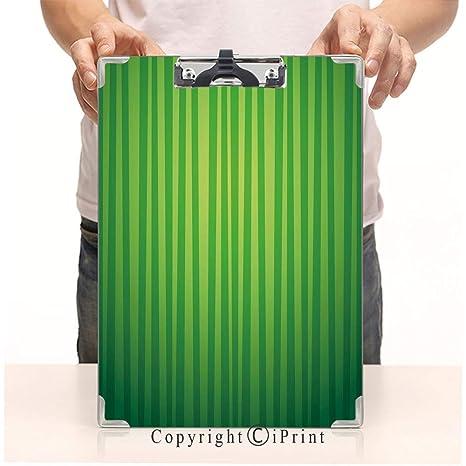 Amazon.com: Clips de papel de aluminio para portapapapeles ...