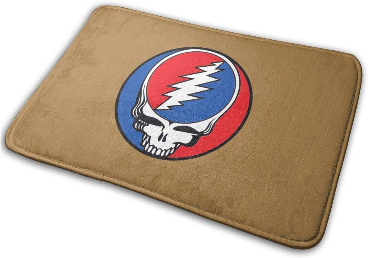NA Doormat The Grateful Dead Logo Funny Inside Indoor Welcome ...