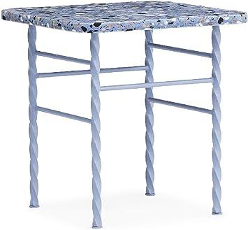 Normann Copenhagen Terra Mesa, Acero, Azul, 42x40xD40cm: Amazon.es ...