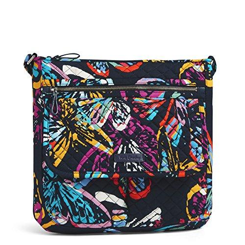 Vera Butterfly Signature Bradley Iconic Cotton Flutter Mailbag Frnq0zZUr
