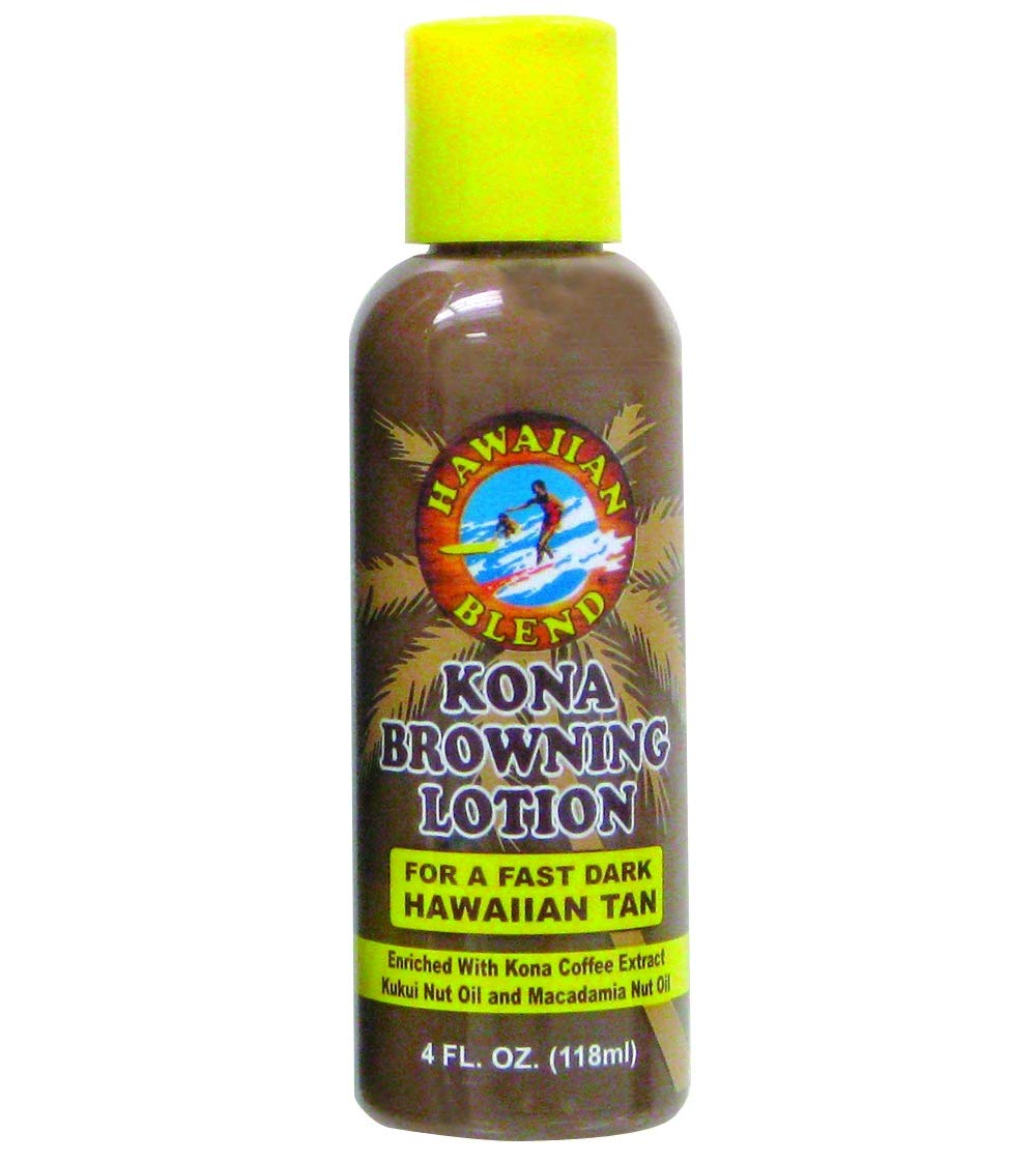 Hawaiian Blend Kona Browning Lotion 4 oz.