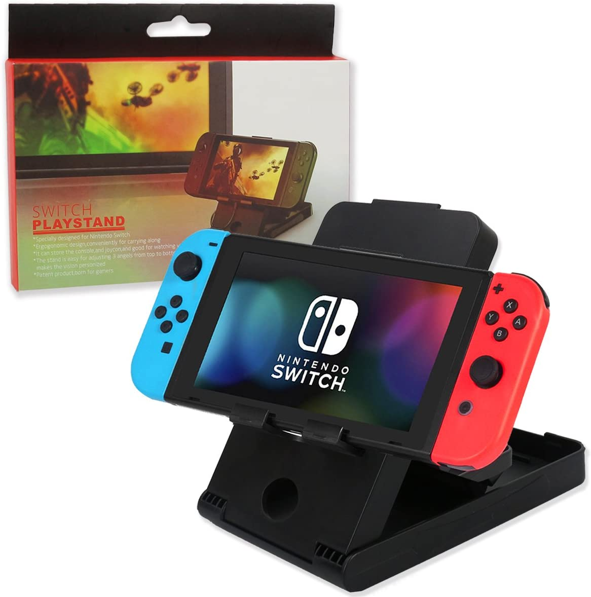 Runfon Support pour Nintendo Switch Stand Foldable Jeu Compact ...
