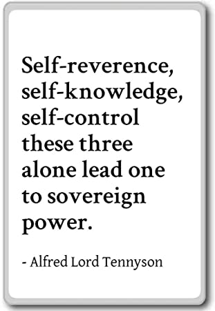 Amazoncom Self Reverence Self Knowledge Self C Alfred Lord