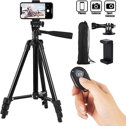 HDHL tripodes Smartphone Trípode Teléfono móvil Soporte portátil Selfie Picture Black: Amazon.es: Electrónica