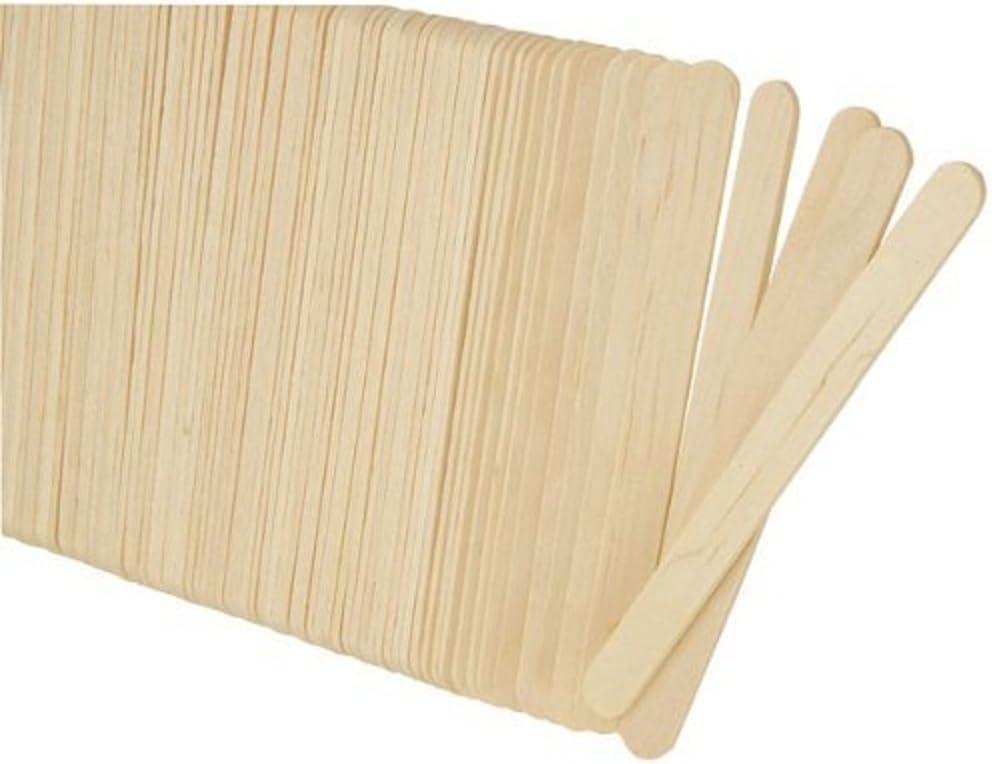 Hosaire - Lote de 100 palos de polo de madera para manualidades y ...
