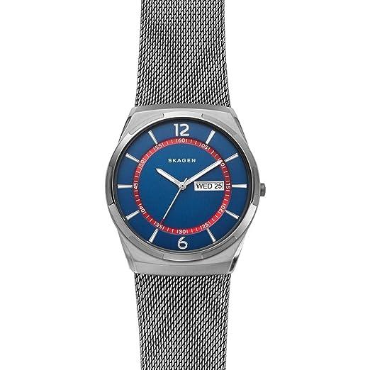 Armband Quarz Edelstahl Skagen Herren Analog Mit Uhr Skw6503 n0wPOk