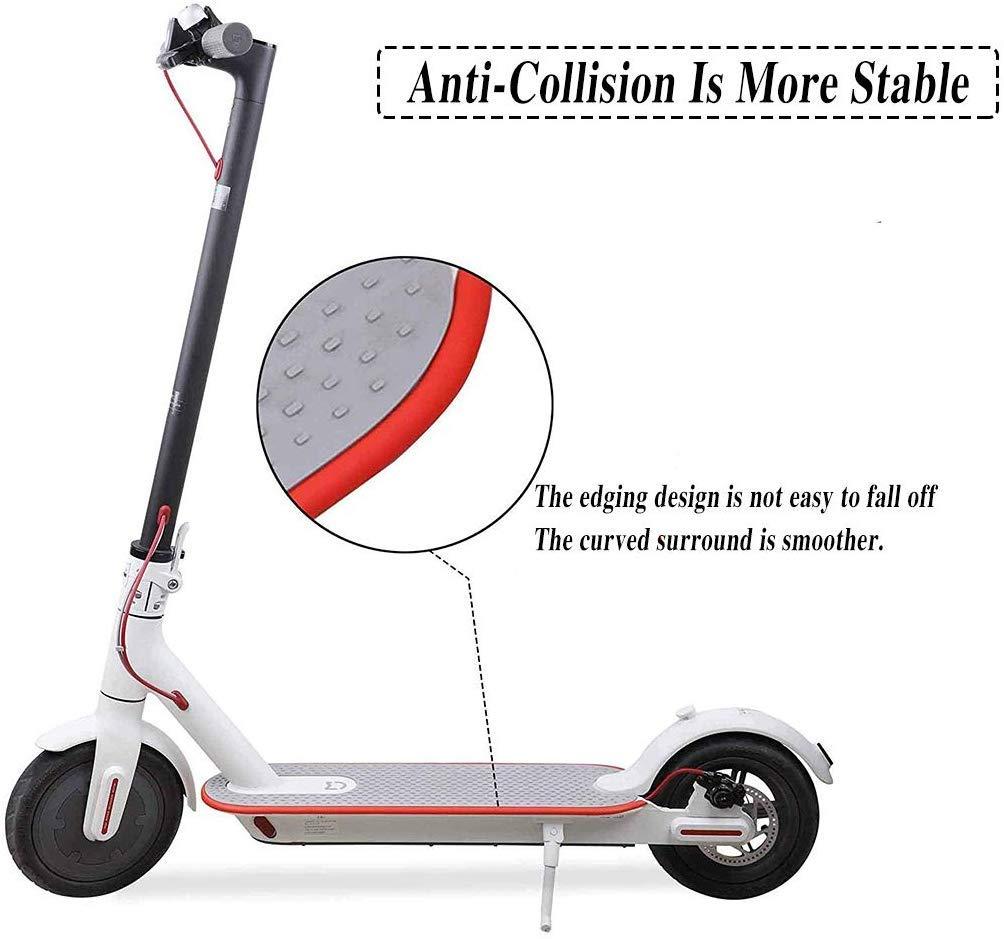 ZONSUSE Tira de Protecci/ón Anticolisi/ón Scooter Electrico Parachoques Anticolisi/ón Franja de Acabado de Scooter 8m se Pueden Cortar a Voluntad