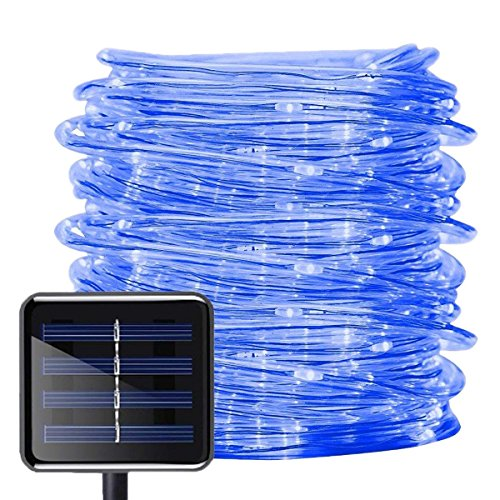 Blue Solar Powered Decking Lights