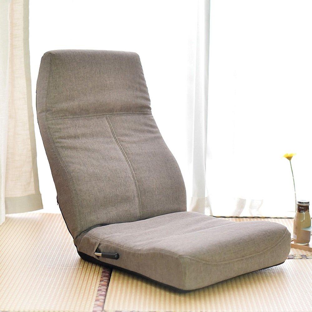 GHM Campingstuhl Boden Stuhl Faltbare Bucht Fenster Stuhl Einzel Sofa Sandy Beach Freizeit Recliners 14 Dateien Einstellbar