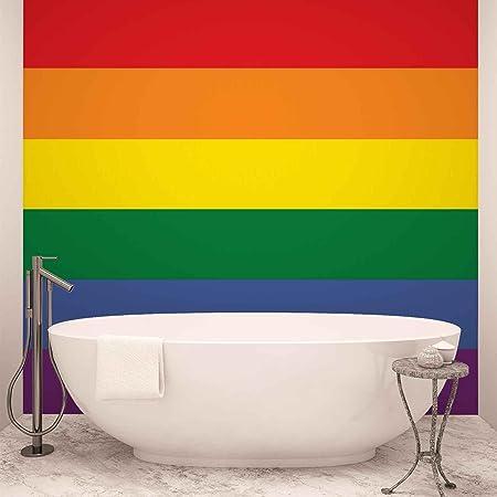 Bathroom wall gay