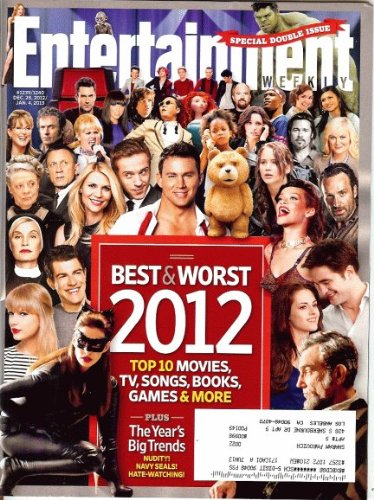 Entertainment Weekly December 28, 2012/January 4 2013 Best & Worst 2012 (Speical Double Issue)