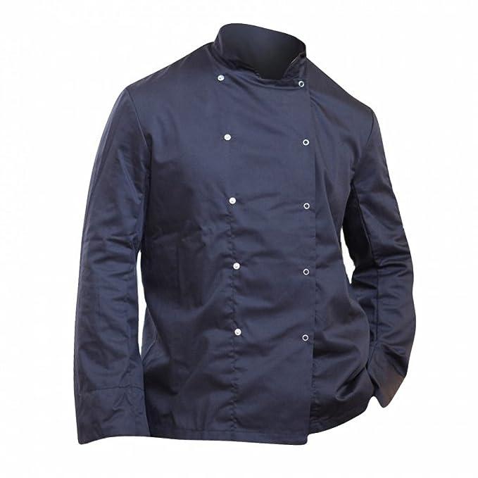 Dennys - Giacca da Chef Maniche lunghe Con Bottoni Automatici - Uomo  Amazon .it  Abbigliamento 27cd6b8777f7