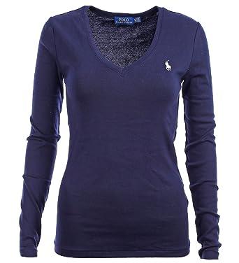 official photos 7c4a2 4f882 Ralph Lauren Polo Damen Langarmshirt Longsleeve Shirt ...