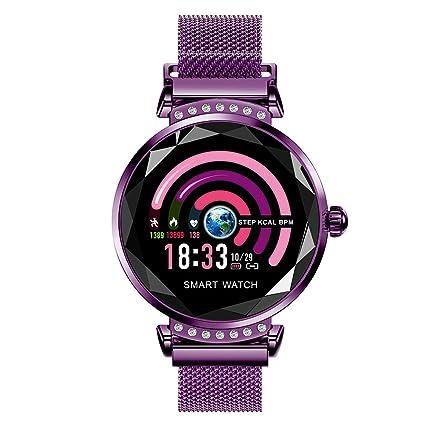 Amazon.com: haixclvyE H2 Women Smart Watch Bluetooth Heart ...
