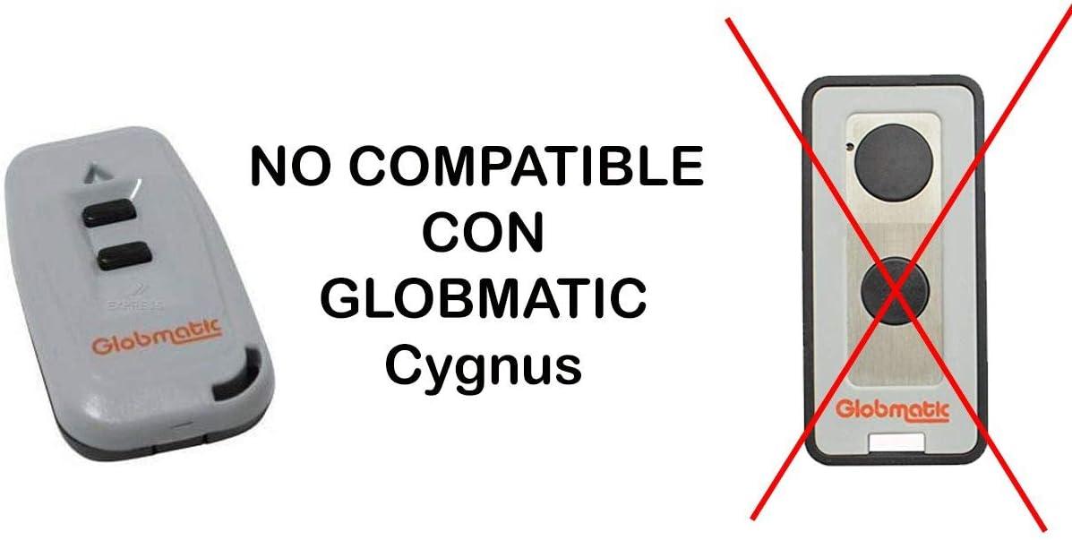 MD2 Mando Garaje Compatible con Globmatic PORTON COCHERA