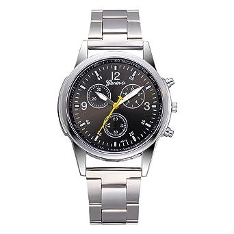 Aobuang Pulsera De Acero Inoxidable Relojes Hombre ...