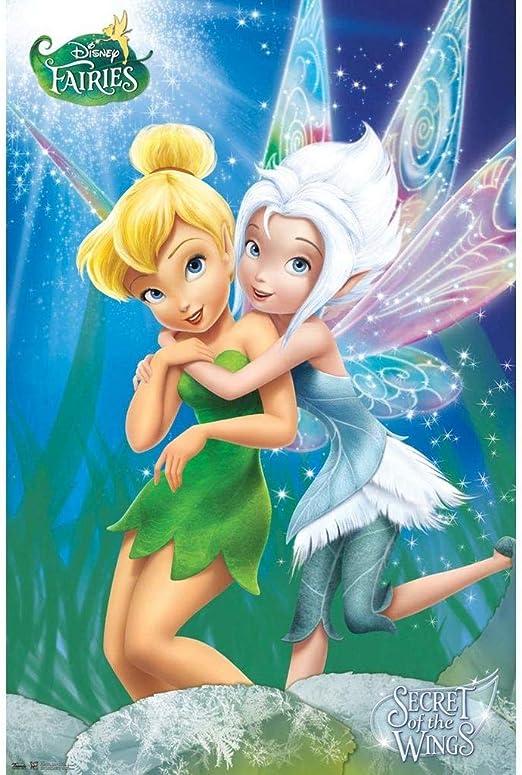 Fairy Children Character Cartoon Film Art Canvas Pictures Disney Tinkerbell