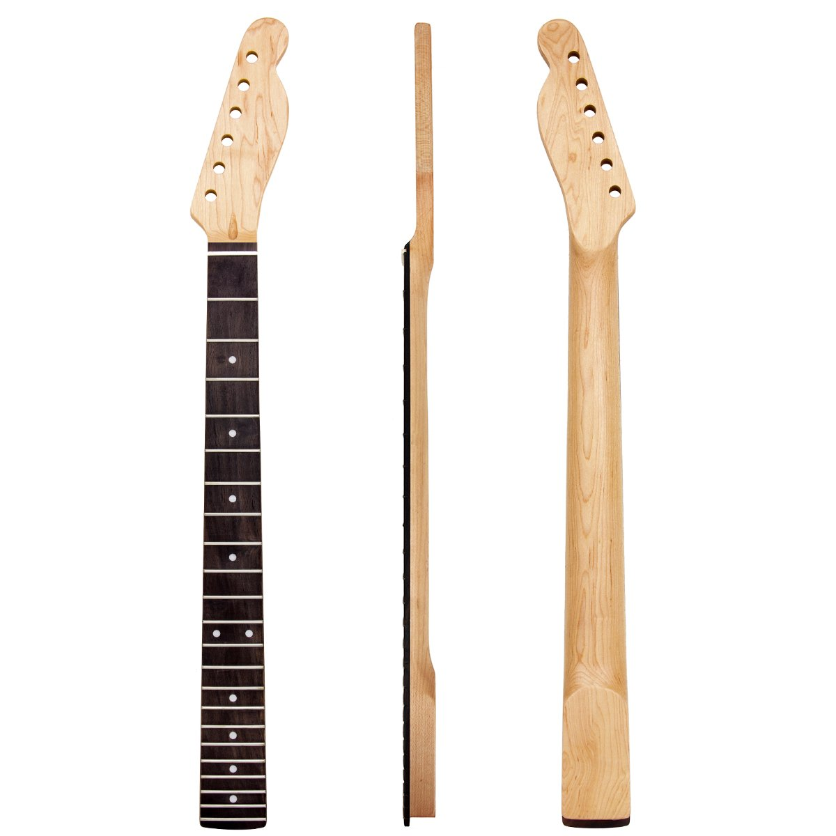 Matt style Finished Electric Guitar Neck 22 Frets Rosewood Fretboard Replacement wholesale 4pcs by Kmise (Image #2)