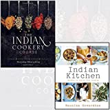 indian kitchen, the indian cookery course 2 books collection set - secrets of indian home cooking
