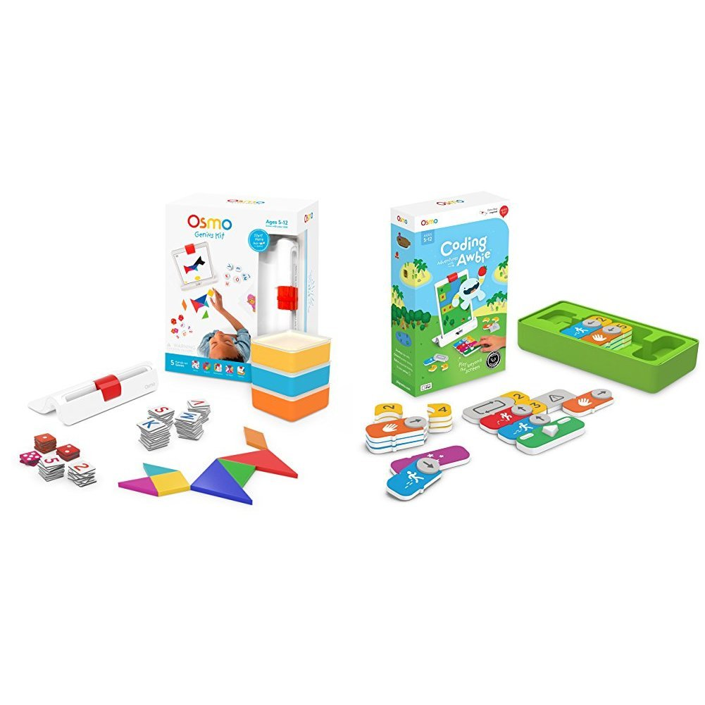 Osmo Coding Awbie Game + Genius Kit for iPad