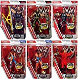 WWE Elite 52 - Complete Set of 6 Mattel Toy Wrestling Action Figures