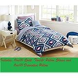 Better Homes and Gardens Southwest Aztec Quilt Bedding Set, Full/Queen