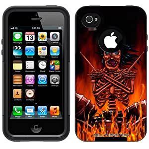Otterbox Commuter Series Skull Drummer Hybrid Case for iPhone 4 & 4S