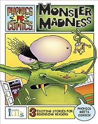 Phonics Comics: Monster Madness (Phonics Comics - Level 3)