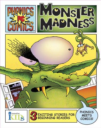 Read Online Phonics Comics: Monster Madness PDF