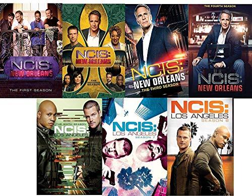 NCIS New Orleans: Complete Seasons 1-4 + NCIS Los Angeles Seasons 6-8 DVD