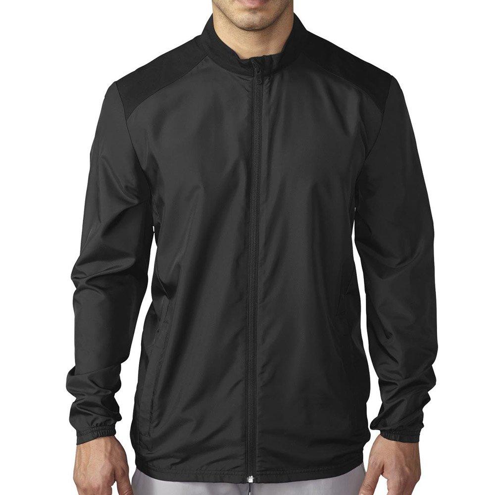 adidas Golf Men's Golf Club Wind Jacket, Black, X-Large by adidas