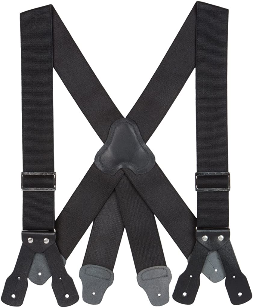 SuspenderStore Men's Firefighter Suspenders
