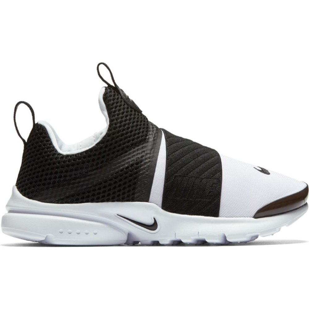 Nike Presto Extreme (PS) Pre School Boys Fashion Sneakers White/Black 870023-100 (1 M US)