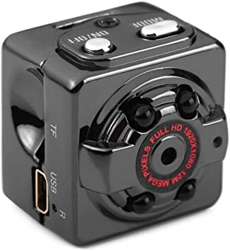 small Full HD 1080P Infrared night camera MINi Hidden SPY Video Recorder SQ8