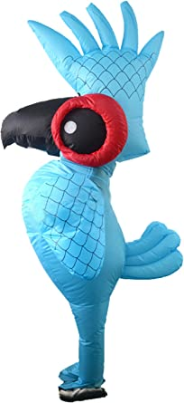 Inflatable Parrot Costume Christmas Halloween Party Clothing Adult Size