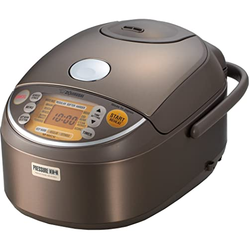 Zojirushi Induction Heating Pressure, Rice Cooker & Warmer NP-NVC10 Review