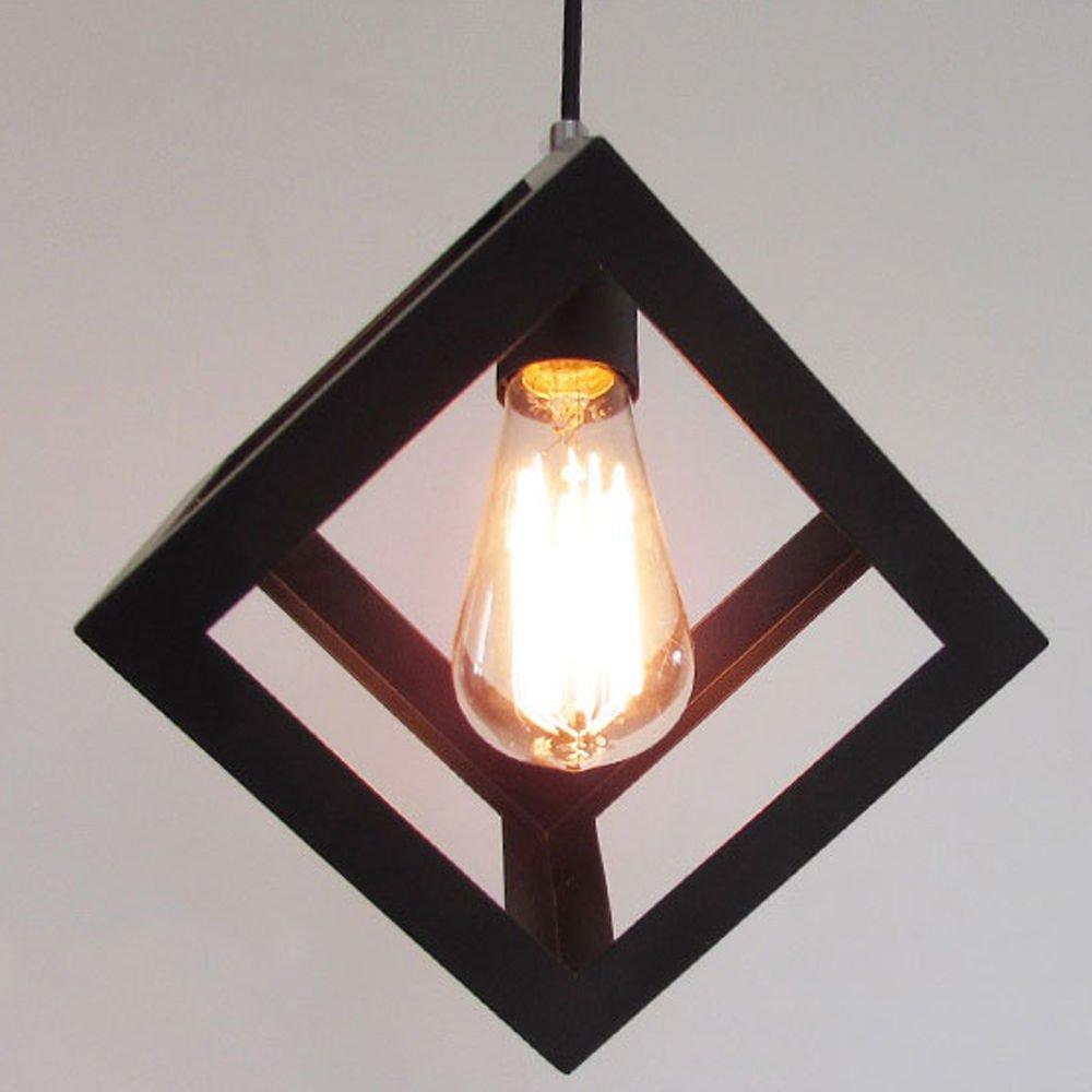 hahaemall Vintage Beleuchtung Industrie Edison Cube Design Antik ...