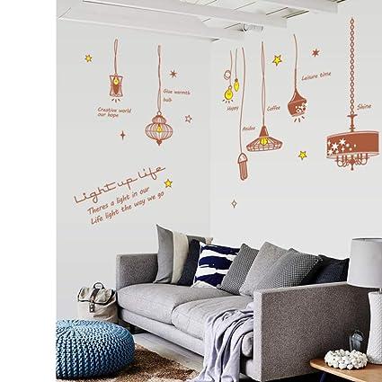 Lámpara colgante Luz Extraíble Salón Dormitorio Muebles ...