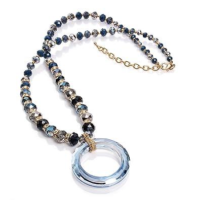 2a790e9c64f5 Collar Viceroy 41001C01013 Fashion Cristales y Circonitas  Amazon.es   Joyería