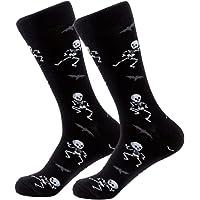 Men's Happy Skeleton Sock by TheSockCo Happy Novelty Socks Funky Cool Funny Sock Shop