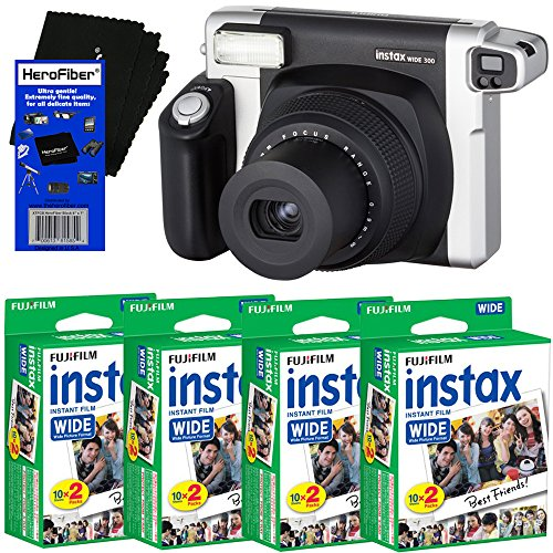 Fujifilm INSTAX 300 Wide-Format Instant Photo Film Camera  +