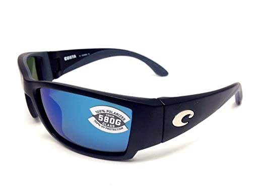7fd0d0db397f Image Unavailable. Image not available for. Color  New Costa Del Mar Corbina  580G Black Blue Mirror Polarized Lens 60mm Sunglasses