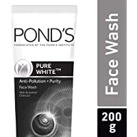 Pond's Pure White Anti Pollution + Purity Face Wash 200 g
