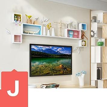 Wunderbar DIDIDD Wand Regal Tv Wand Dekorationen Wohnzimmer Esszimmer Wand