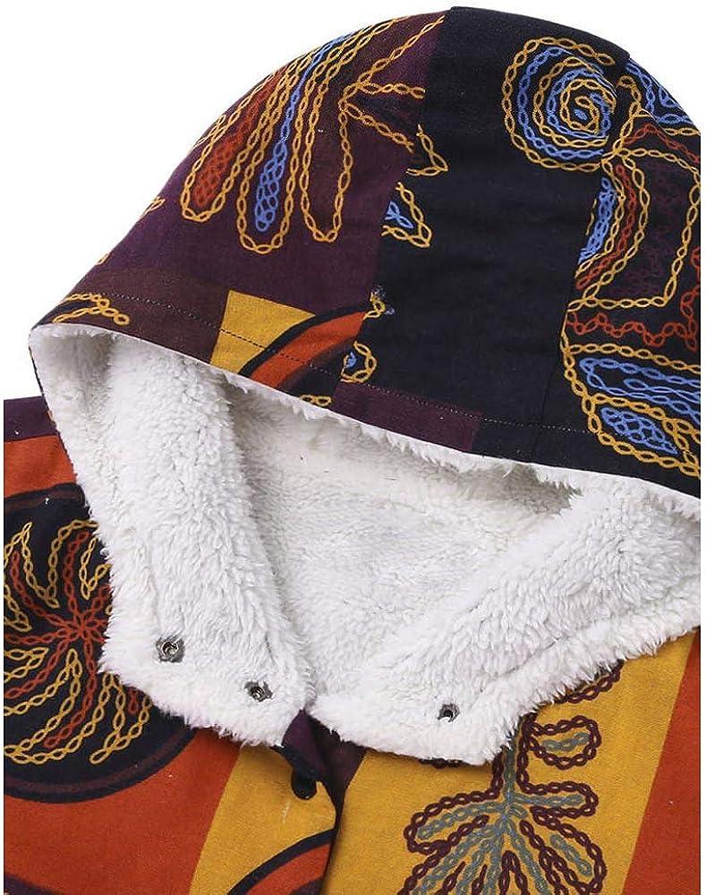 iHAZA Cotton Hooded Coat Women Fluffy Zipper Jacket Vintage Plus Size Outwear