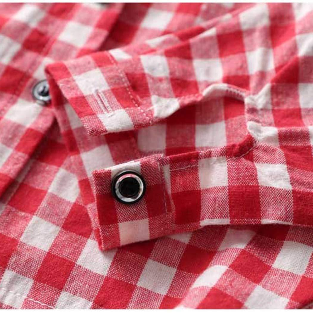 Colorful Childhood Girls Plaid Shirts Casual Kids Blouses Vintage Plaid School Girl Shirts Tops