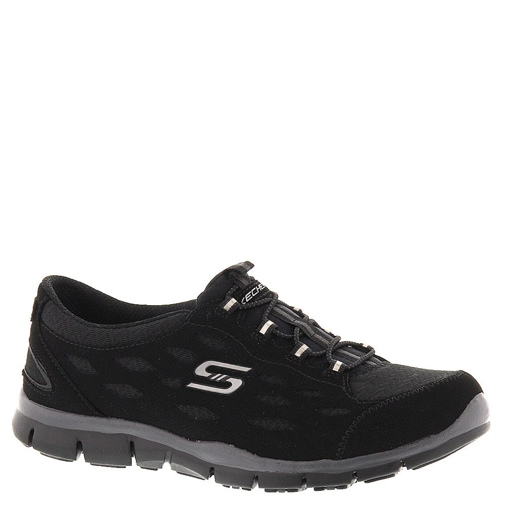 Skechers Women's Gratis Bungee Sneaker,Full Circle/Black,US 11 W